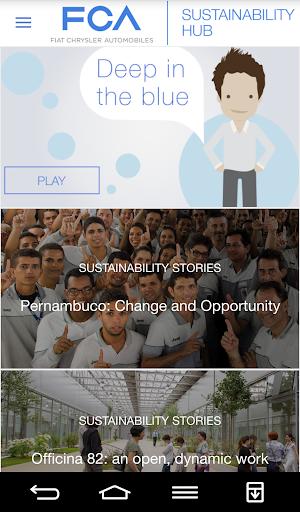 FCA Sustainability App