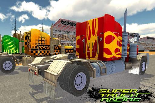 超快速卡車賽車3D