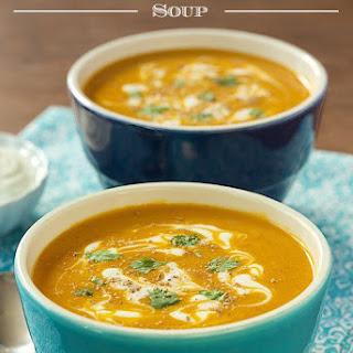 Sweet Potato Coconut Curry Soup Recipe