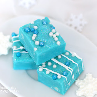 White Chocolate Frozen Fudge.