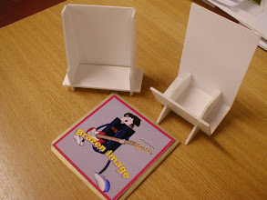 Photo: Some examples of modelling the CD stand