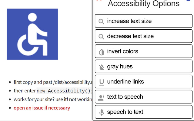 Websites Accessibility