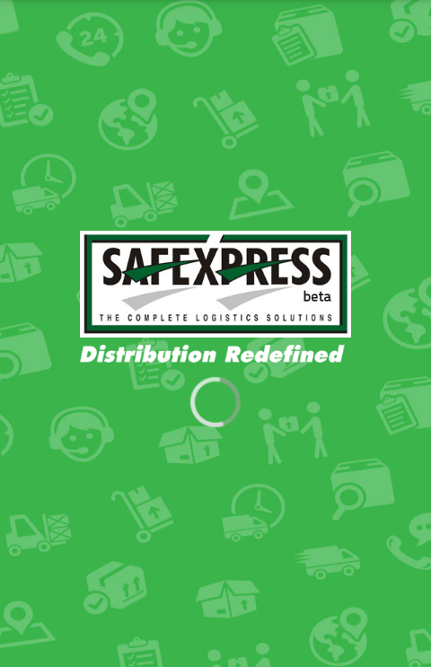 Safexpress Enterprise App- screenshot