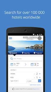 HEI Online Hotel Reservations- screenshot thumbnail