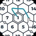 Number Mazes: Rikudo Puzzles icon