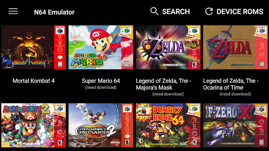 N64 Emulator – Mupen64Plus Collection Games Apk Android