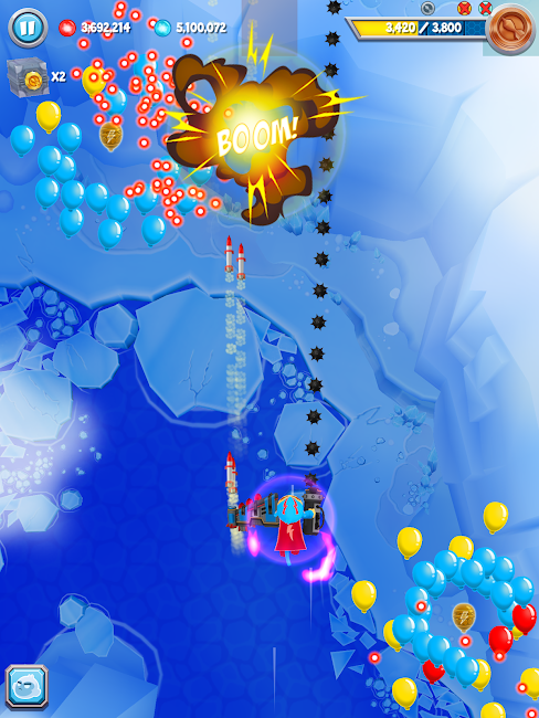 #6. Bloons Supermonkey 2 (Android)