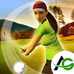 Indoor Golf Girls Icon
