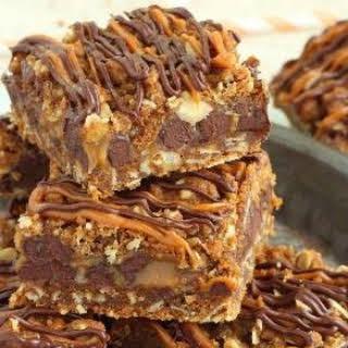 Caramel Dessert Bars Recipes.