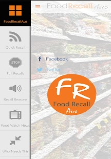 FoodRecall Aus- screenshot thumbnail