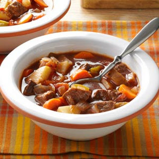 Chunky Beef & Vegetable Soup