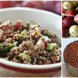 Quinoa & Grape Salad with Curry Vinaigrette