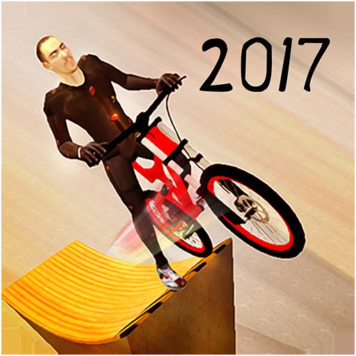 Bicycle BMX Stunt Track