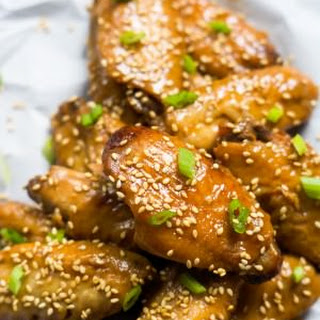 Slow Cooker Garlic Honey Teriyaki Chicken Wings