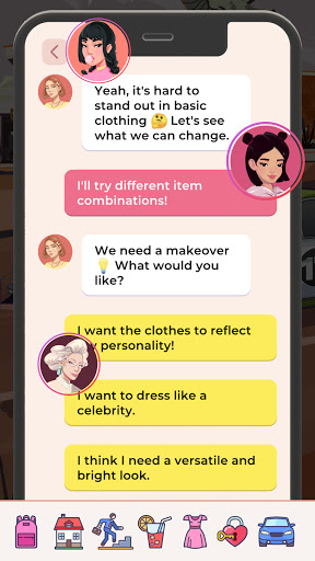 Hollywood Celebrity Story Life Simulator 1.2.5 screenshots 2