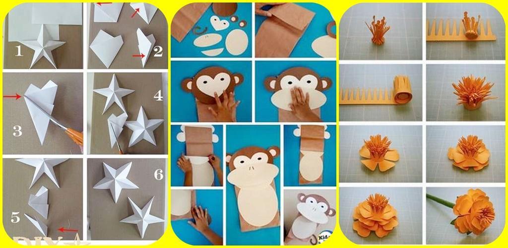 Download Membuat Kerajinan Tangan Dari Kertas Origami Apk