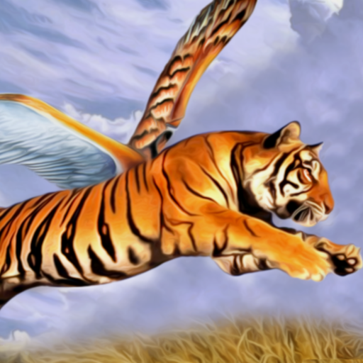 Angry Flying Tiger Wild Simulator 3D
