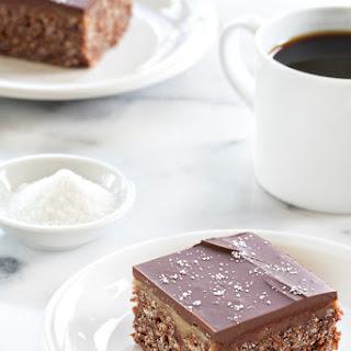 Chocolate Salted Caramel Scotcheroos
