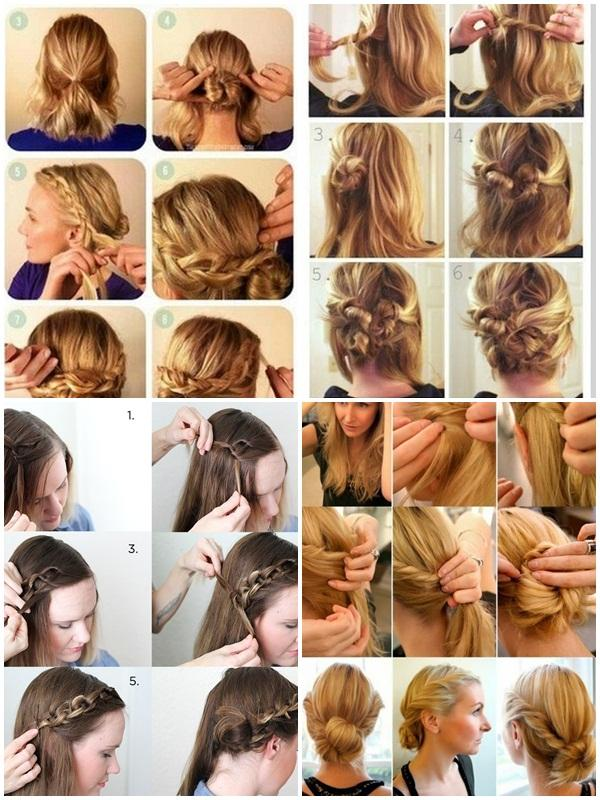 Peachy Easy Hairstyle Step By Step Android Apps On Google Play Hairstyle Inspiration Daily Dogsangcom
