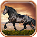 Horses Live Wallpaper HD icon