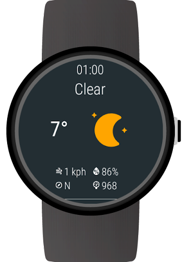 Weather for Wear OS (Android Wear)  screenshots 4
