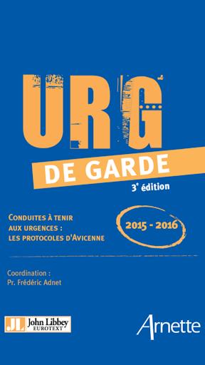 URG de garde