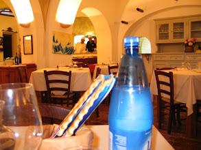 """Photo: Im Gewölbekeller des Herrenhauses: Restaurant """"Villa delle Ripalte""""."""