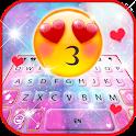 Galaxy Emoji Kiss Keyboard Background icon