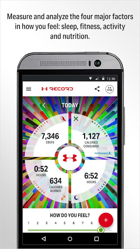Under Armour Record Screenshot