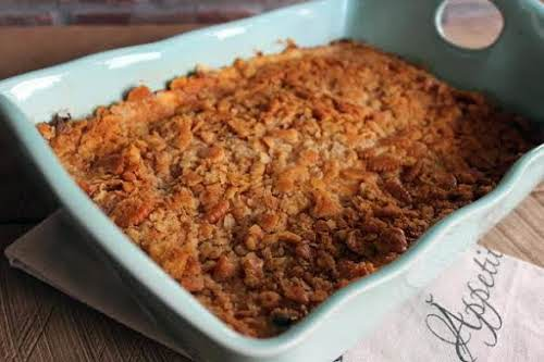 """Hash Brown Casserole""""My 16-year-old loves, potatoes, he loves cheese, and he loves..."""