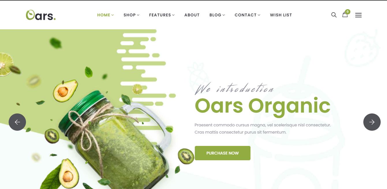 Oars - Coffee shop shopify theme