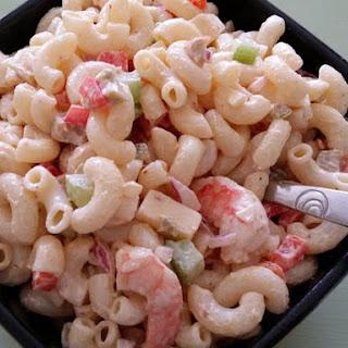 Not Yo' Mama's Cajun Macaroni Salad.