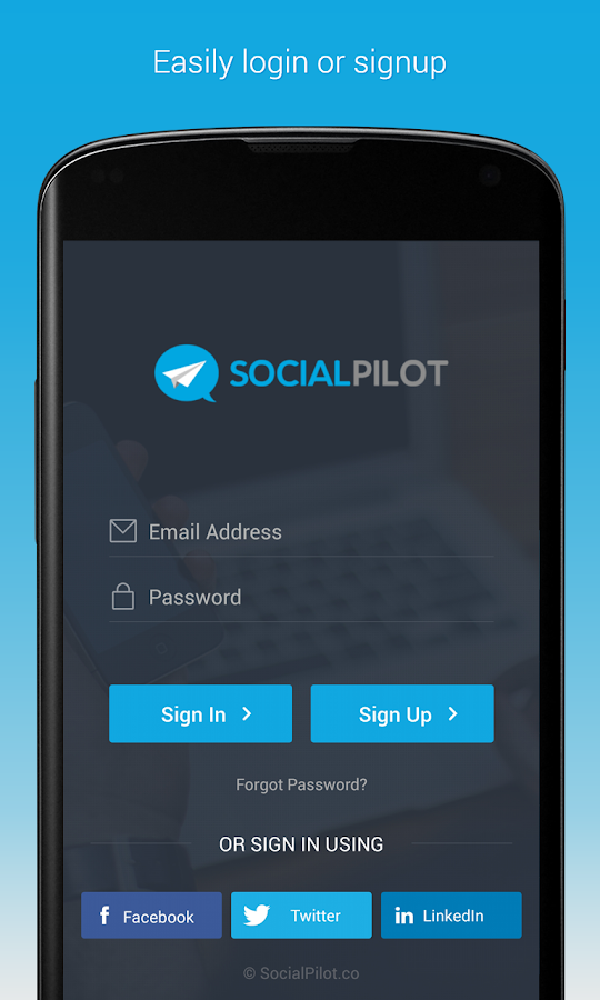 SocialPilot- screenshot