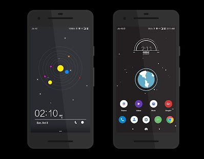 Cosmic Dark EMUI 5 Theme- screenshot thumbnail