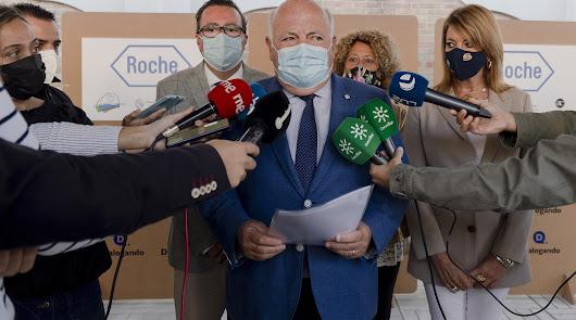 Jesús Aguirre destaca el comportamiento de Almería y Huelva durante la pandemia