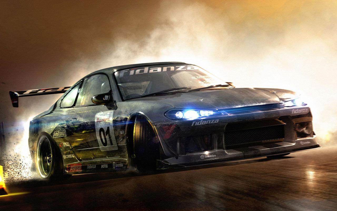 racing car live wallpaper screenshot