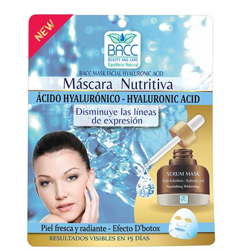 Mascarilla Facial Beauty and Care Ácido Hialurónico