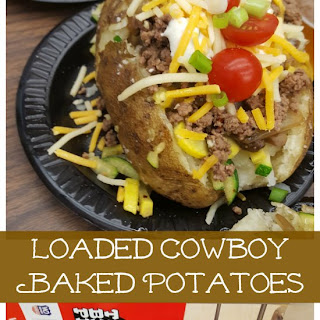 Loaded Cowboy Baked Potatoes