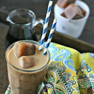 Mocha Ice Cubes for Iced Coffee