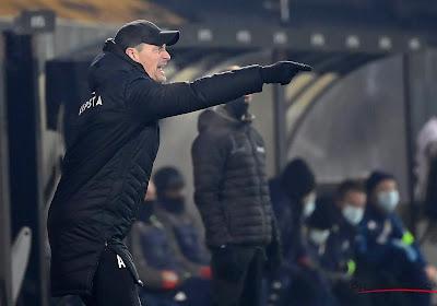 """Alexander Blessin a le regard tourné vers le prochain match : """"On va tout faire pour gagner face au Standard"""""""