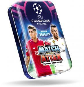 Champions League 18/19 Mini-Tin Display