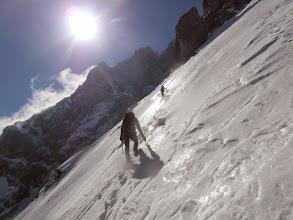 Photo: Tukaj se je začel pregnit sneg