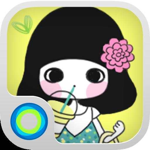 个人化の夏の一番‐レモネード ‐Holaテーマ LOGO-HotApp4Game
