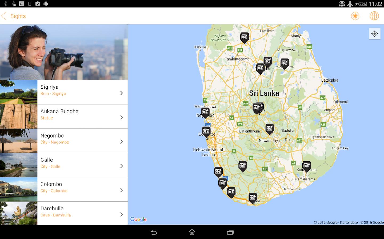 Sri Lanka Travel Guide App