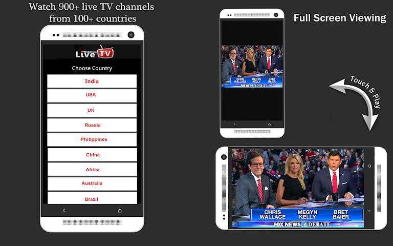 android WEBKUTI LIVE TV: MOBILE TV,  TV Screenshot 1