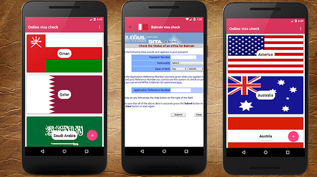 Online visa checking Software