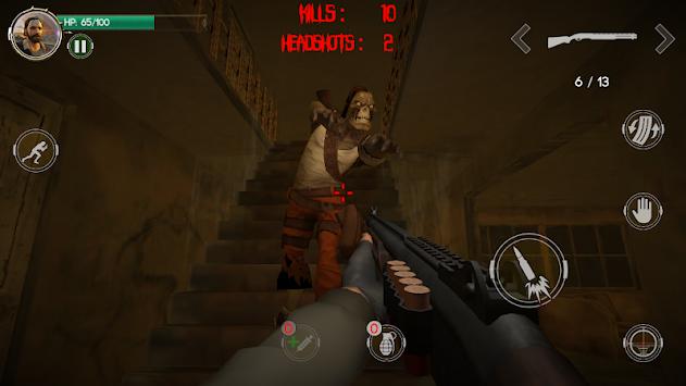 The Zombie Butcher - 3D FPS Zombie Shooting Game apk screenshot