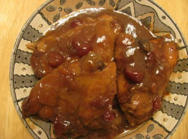 Crock Pot Cranberry Chicken (turkey) Recipe