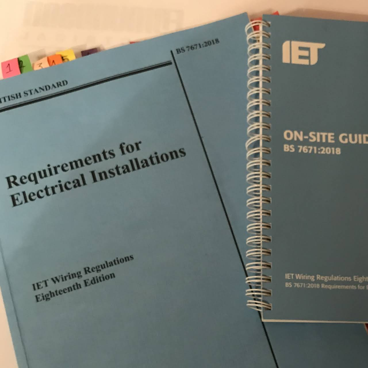 Rpugh Sons Electrical Services Ltd Electricians Iet Wiring Regulations Book Updates