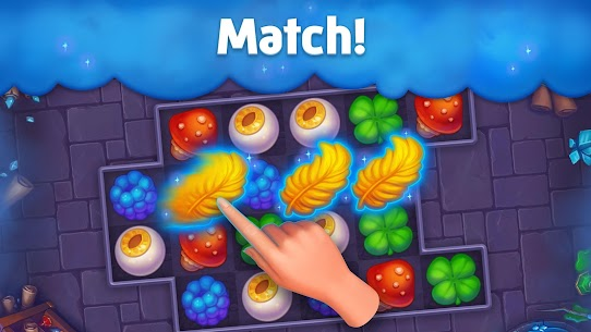 Spellmind – Magic Match Mod Apk (Unlimited Gold Coins and Crystal) 1